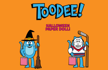 Halloween - Toodee Paper Doll! Image